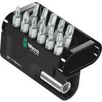 Wera 6 Piece Bit Check Screwdriver Bit and Holder Set
