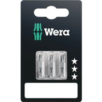 Wera 855 1Z SB Extra Tough Screwdriver Bits PZ2 25mm Pack of 3