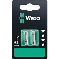 Wera Torsion Phillips Screwdriver Bits PH2 25mm Pack of 2