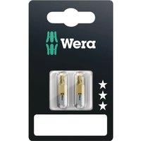 Wera 851 1 TiN SB Phillips Screwdriver Bits PH2 25mm Pack of 2