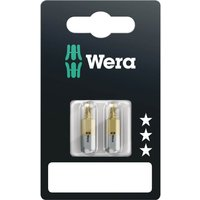 Wera 855 1 TiN SB Pozi Screwdriver Bits PZ1 25mm Pack of 2