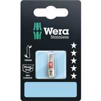 Wera 3851 1 TS SB Phillips Screwdriver Bits PH1 25mm Pack of 1