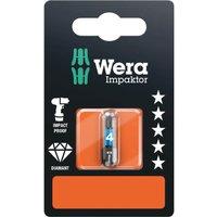 Wera Impaktor Hexagon Screwdriver Bits 4mm 25mm Pack of 1