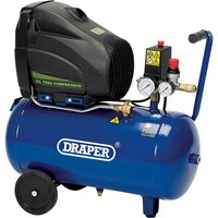 Draper DA25/1851C Oil Free Air Compressor 24 Litre 110v