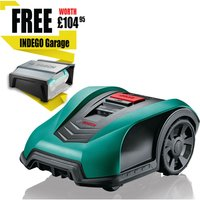 Bosch INDEGO S+ 400 CONNECT 18v Cordless Robotic Lawnmower 190mm 1 x 2.5ah Integrated Li-ion Charger