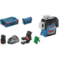 Bosch GLL 3 80 CG 12v Cordless Connected Green Line Laser Level 1 x 2ah Li ion Charger Case