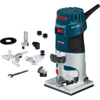 Bosch GKF 600 1 4  Compact Fixed Base Palm Router 110v