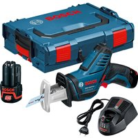 Bosch GSA 12 V-LI 12v Cordless Pocket Reciprocating Saw 2 x 2ah Li-ion Charger Case