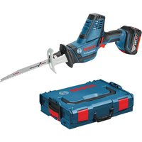 Bosch GSA 18 V-LI C 18v Cordless Compact Reciprocating Saw 2 x 5ah Li-ion Charger Case