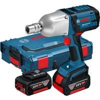 Bosch GDS 18 V-LI HT 18v Cordless 1/2 Drive Impact Wrench 2 x 5ah Li-ion Charger Case