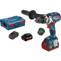 Bosch GSB 18 V-85 C 18V Connected Cordless Combi Drill 2 x 5ah Li-ion Charger Case