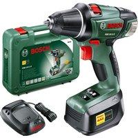 Bosch PSR 18 LI-2 18v Cordless Compact Drill Driver 1 x 1.5ah Li-ion Charger Case