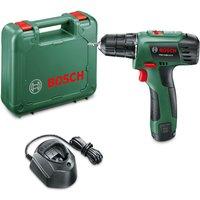 Bosch PSR 1080 LI 10.8v Cordless Drill Driver 1 x 1.5ah Li-ion Charger Case