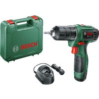 Bosch EASYDRILL 1200 12v Cordless Drill Driver 1 x 1.5ah Li-ion Charger Case
