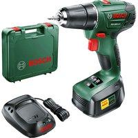 Bosch PSR 1800 LI-2 18v Cordless Drill Driver 1 x 1.5ah Li-ion Charger Case