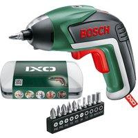 Bosch IXO V 3.6v Cordless Screwdriver 1 x 1.5ah Integrated Li-ion Charger Case