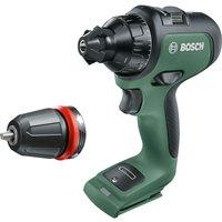Bosch ADVANCEDDRILL 18v Cordless Drill Driver + 1 Attachments No Batteries No Charger No Case