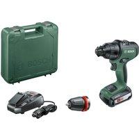 Bosch ADVANCEDIMPACT 18v Cordless Combi Drill + 1 Attachment 1 x 2.5ah Li-ion Charger Case