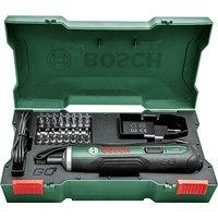 Bosch PUSHDRIVE 3 6v Cordless Screwdriver 1 x 1 5ah Integrated Li ion Charger Case