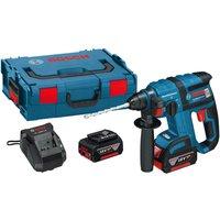 Bosch GBH 18 V-EC 18v Cordless SDS Drill 2 x 4ah Li-ion Charger Case