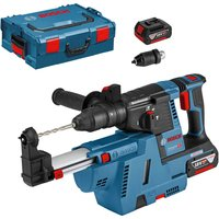 Bosch GBH 18 V 26 F 18v Cordless SDS Drill 2 x 6ah Li ion Charger Case   Accessories