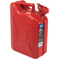 Draper Steel Jerry Can 10l Red