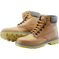 Draper Mens Safety Boots Tan Size 10
