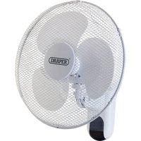 Draper Remote Controlled Wall Mounted Fan 16
