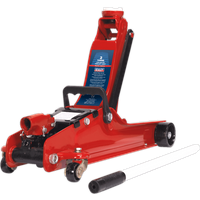 Sealey 1020LE Low Entry Yankee Trolley Jack 2 Tonne Red