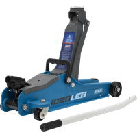 Sealey 1020LE Low Entry Yankee Trolley Jack 2 Tonne Blue
