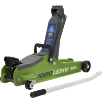 Sealey 1020LE Low Entry Yankee Trolley Jack 2 Tonne Green