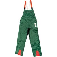 Draper Expert Chainsaw Trousers Green / Orange XL