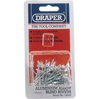 Draper Aluminium Pop Rivets 3.2mm 5.2mm Pack of 50