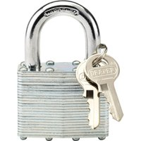 Draper Laminated Steel Padlock 50mm Standard