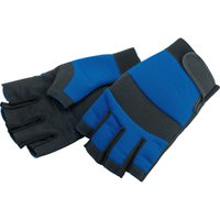Draper Fingerless Gloves Black / Blue L