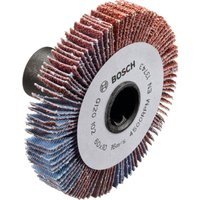 Bosch LR Lamella Abrasive Flap Wheel for PRR 250 ES 60mm 10mm 80g