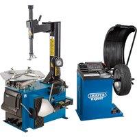 Draper Tyre Changer and Wheel Balancer Kit 240v