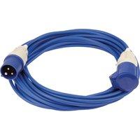 Draper Extension Trailing Lead 16 amp Blue Cable 240v 14m