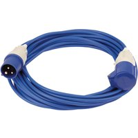Draper Extension Trailing Lead 16 amp 2.5mm Blue Cable 240v 14m