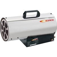 Draper PSH50SS Jet Force Stainless Steel Gas Space Heater 240v