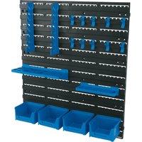 Draper 18 Piece Wall Mounted Tool Storage Board