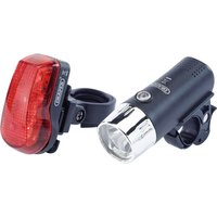 Draper Front And Rear Led Bicycle Light Set 75 Lumens