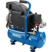 Draper DA8/118 Oil Free Air Compressor 8 Litre 240v