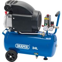 Draper DA25/207 Air Compressor 24 Litre 240v