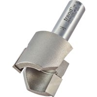 Trend TCT Tapered Plug Cutter 19 1mm 1 2