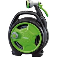 "Draper Garden Mini Hose Reel Set 1/2"" / 12.5mm 10m"