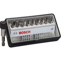 Bosch 19 Piece L Extra Hard Screwdriver Bit Set