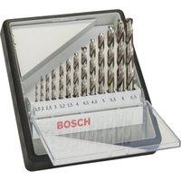 Bosch 13 Piece HSS G Drill Bit Robust Set