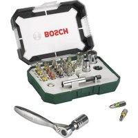 Bosch 26 Piece Screwdriver Bit & Ratchet Set