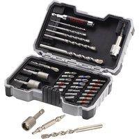 Bosch 35 Piece Drill and Screwdriver Bit Set for Masonry